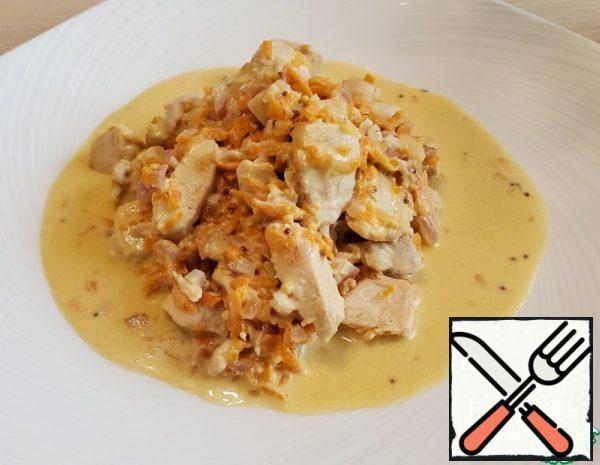 Chicken Fillet in Sour Cream Sauce Recipe