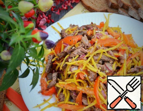 Salad with Roast Beef Recipe
