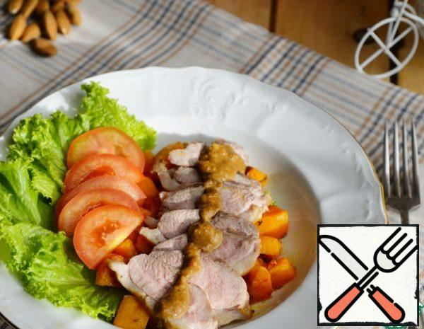 Warm Salad with Duck and Pumpkin Recipe