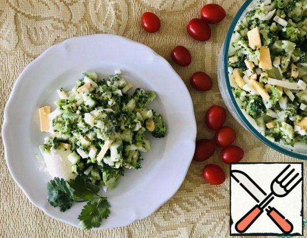 Broccoli Salad with Cucumber Recipe