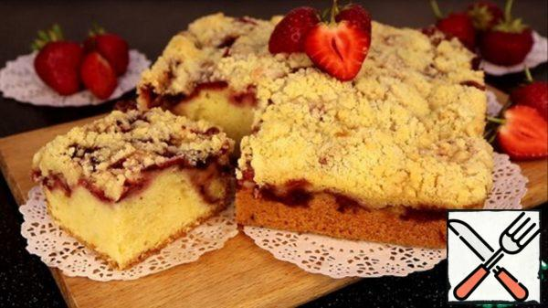 Strawberry Pie with Crispy Crust Recipe