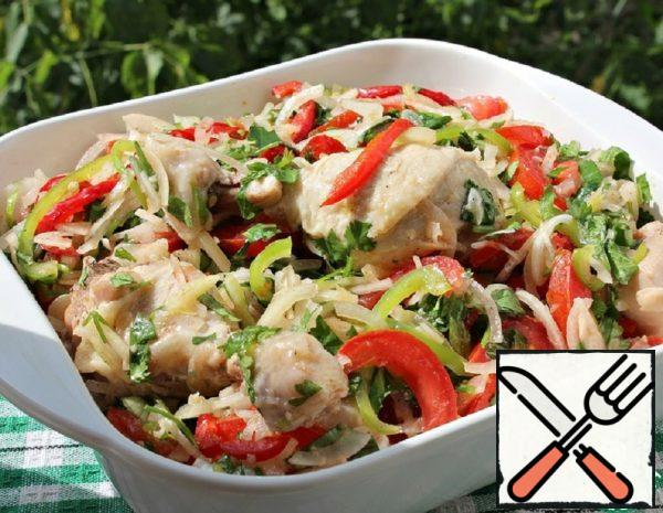 Cold Chicken on Dungan Recipe