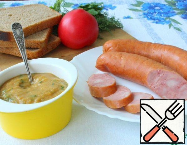 Apple-Mustard Sauce for Sausage Recipe