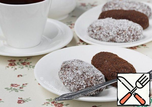 "Chocolate Cake ""Potato"" with Halva Recipe"