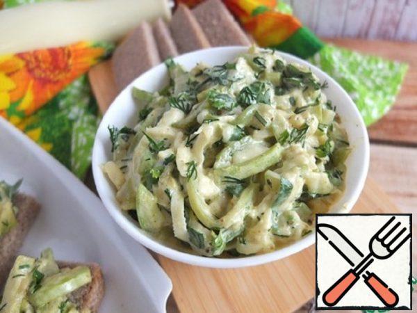 Snack with Zucchini Recipe