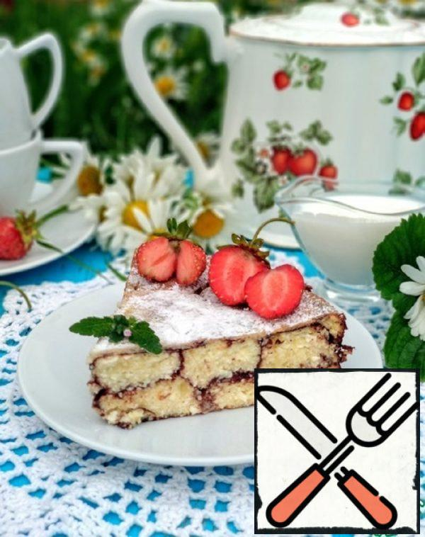 Cottage Cheese Casserole with Cocoa Recipe