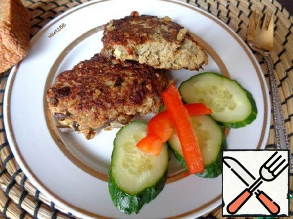 Cutlets with Mushrooms Recipe