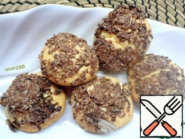 Shortbread Cookies with Wafer Crumbs Recipe