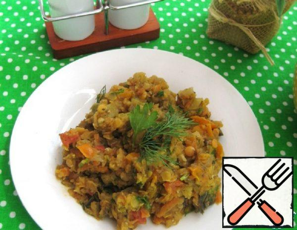 Stew with Lentils and Vegetables Recipe