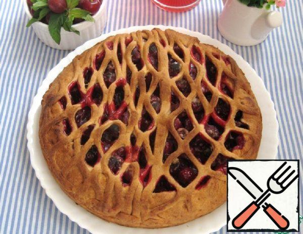 Gooseberry and Cherry Pie Recipe