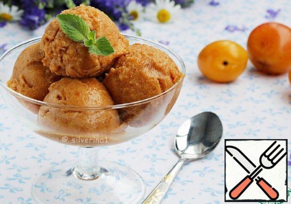 Apricot Sorbet with Orange Juice Recipe