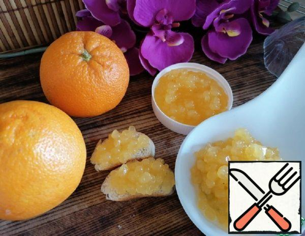 "Dessert ""Orange Caviar"" Recipe"