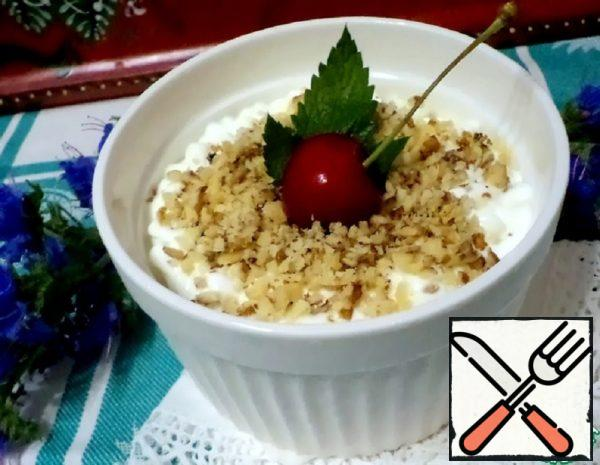 """Cottage Cheese and Fruit Casserole """"Harmony"""" without Sugar Recipe"""