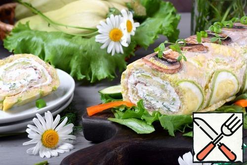 The result is a tender roll both in consistency and taste. Bon Appetit!