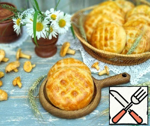 Pies with Potatoes and Chanterelles Recipe