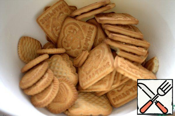 I've got 3 kinds of cookies based-milk biscuits, but it does not matter.