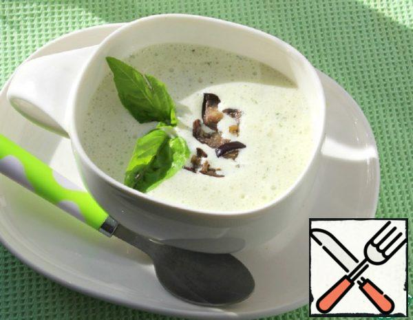 Cold Soup with Eggplant Recipe