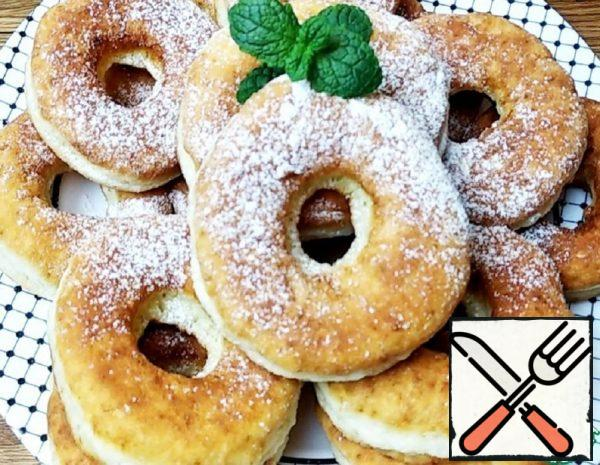 Cottage Cheese Donuts Recipe