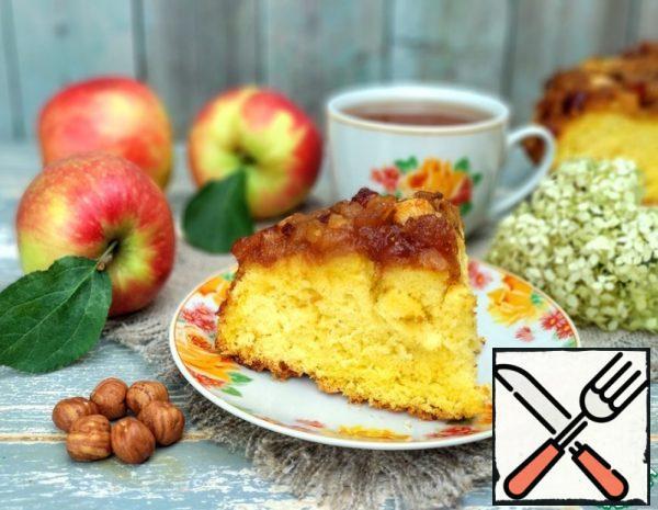 Apple-Nut Caramel Pie Recipe