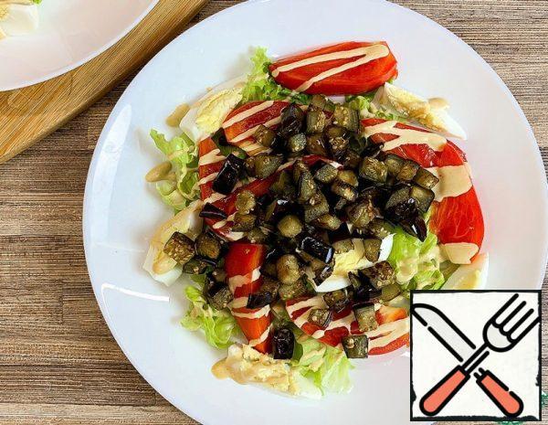 Warm Eggplant Salad Recipe