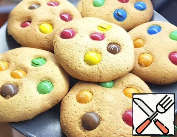 Shortbread Cookies with M&Ms Recipe