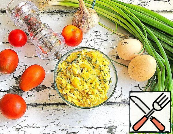 Zucchini Salad with Mozzarella Recipe