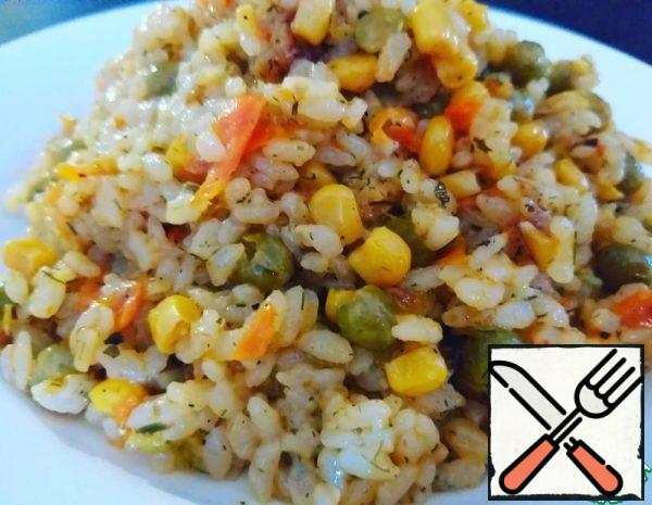 Rice with Vegetable Recipe