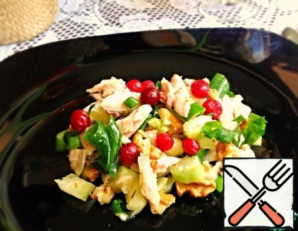 Chicken and Cranberry Salad Recipe