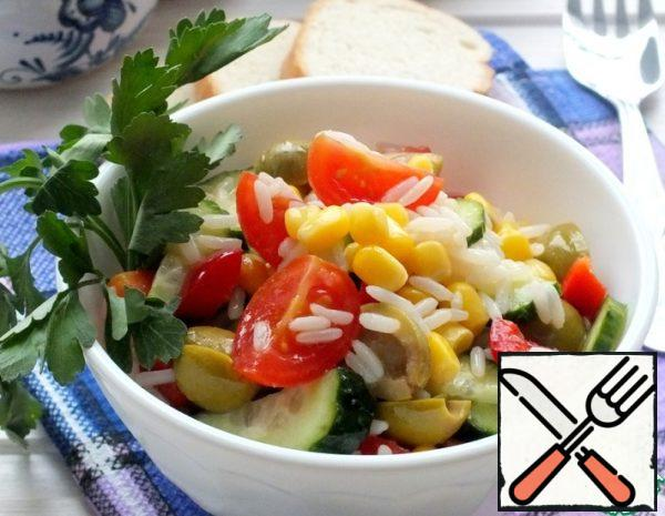 Rice Salad with Vegetables Recipe