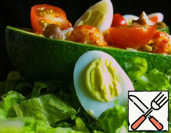 Salad with Cancer Necks Recipe