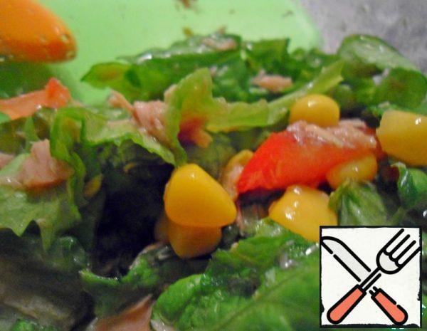 Summer Salad with Tuna Recipe