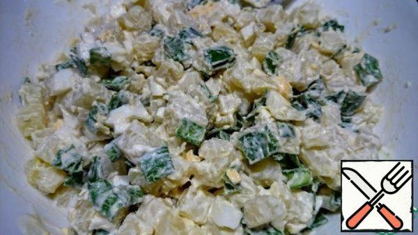 Salad with Potato Recipe