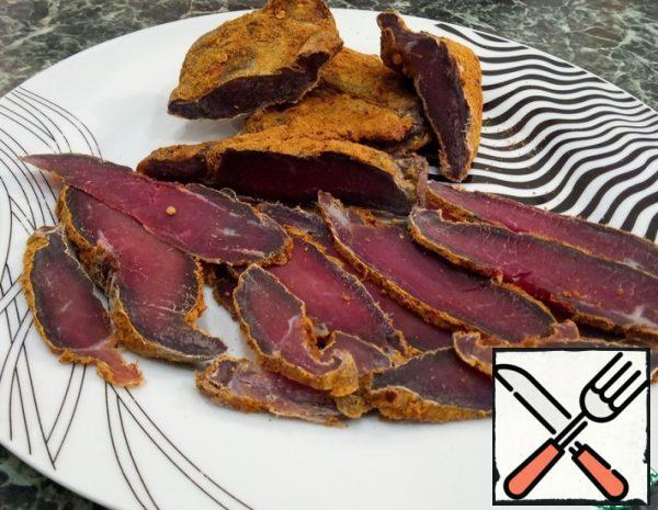 Basturma of Lamb Recipe