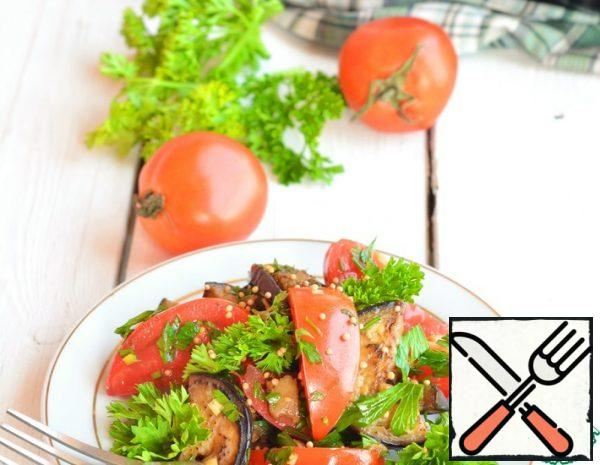 Appetizer with Spicy Eggplant Recipe