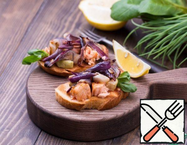 Bruschetta with Trout and Sweet Onion Recipe