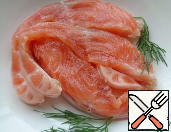 Lightly salted Trout Recipe