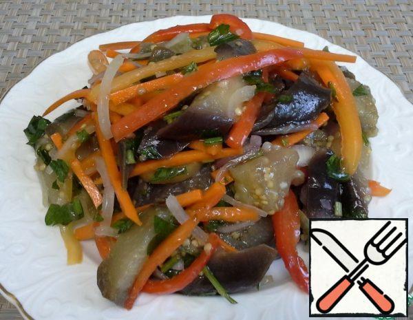 Korean-Style Eggplant Recipe