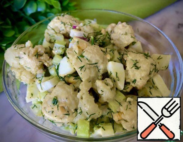 Salad of roasted Cauliflower Recipe
