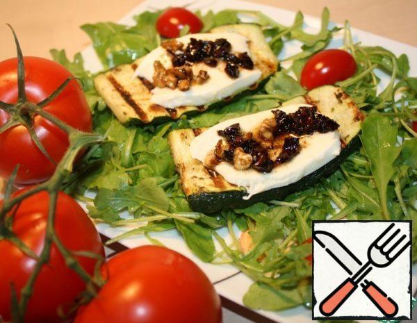 Zucchini Snack with Mozzarella Recipe