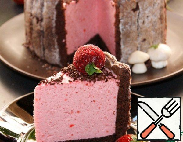 "Cake ""Strawberry Basket"" Recipe"