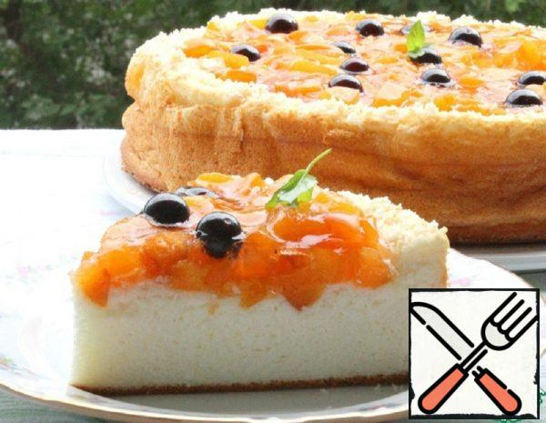 Tender Cottage Cheese with Fruit Jelly Recipe