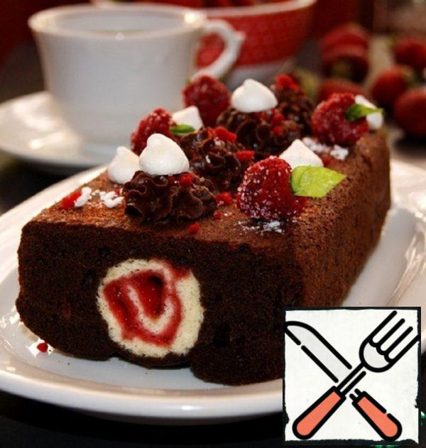 "Chocolate ""Stuffed"" Cupcake Recipe"