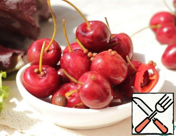 Spicy Pickled Cherries Recipe