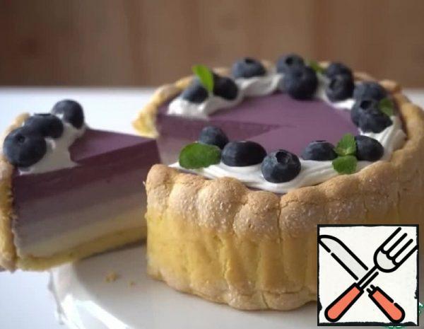 Blueberry Mousse Cake Recipe
