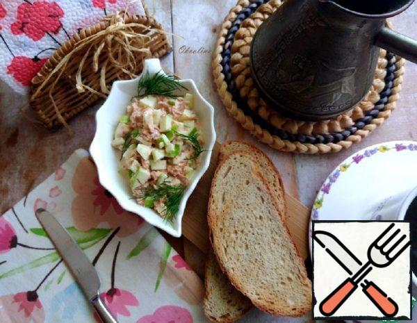 Snacks with Tuna and Apple Recipe