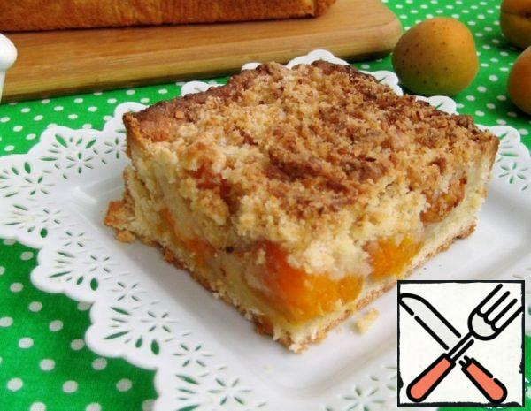 Coconut Cake with Apricots and Streusel Recipe