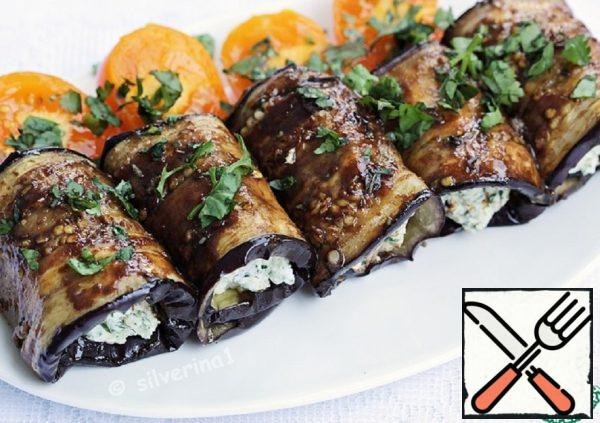 Spicy Eggplant Rolls Recipe