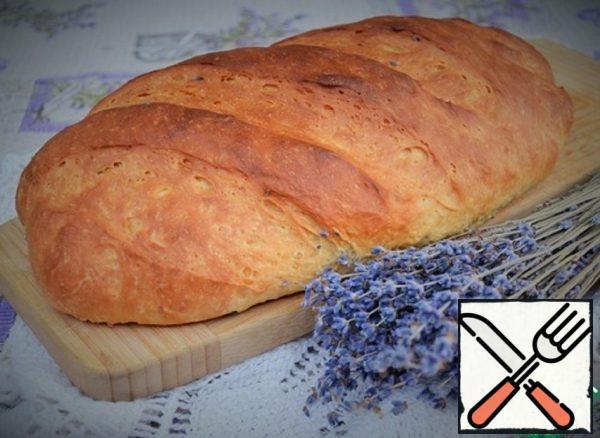 Cream Bread with Lavender Recipe