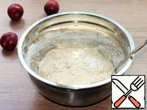 Make dough.