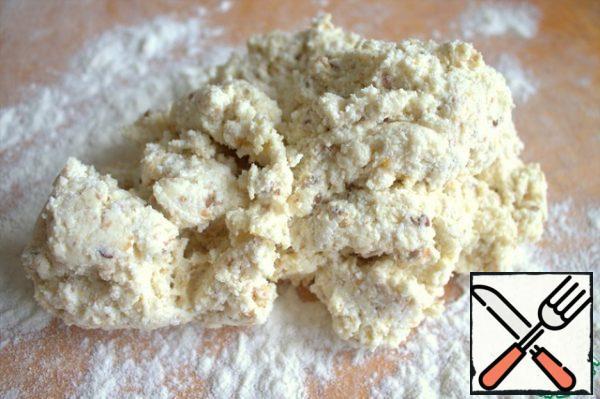 Transfer the dough to a flour Board.